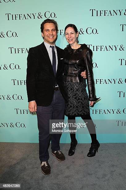 Harry Kargman and Jill Kargman attend the 2014 Tiffany's Blue Book Gala at the Guggenheim Museum on April 10 2014 in New York City