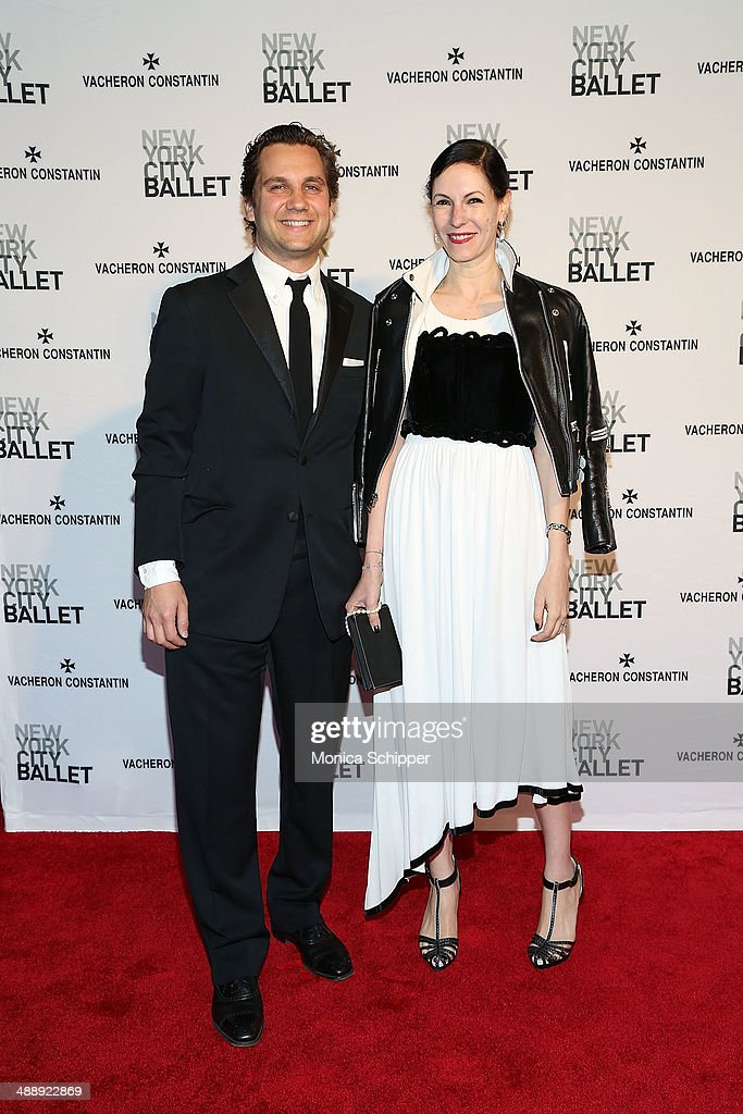 Harry Kargman (L) and Jill Kargman attend the New York City Ballet 2014 Spring Gala at David H. Koch Theater, Lincoln Center on May 8, 2014 in New York City.