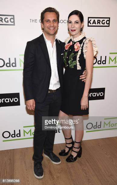 Harry Kargman and Jill Kargman attends The Cinema Society Hosts The Season 3 Premiere Of Bravo's 'Odd Mom Out at the Whitby Hotel on July 11 2017 in...