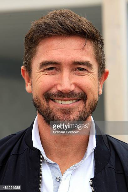Harry Kewell attends the Portsea Polo event at Point Nepean Quarantine Station on January 10 2015 in Melbourne Australia