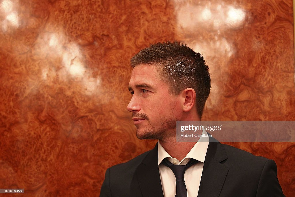 Harry Kewell of Australia is seen during an Australian Socceroos welcome function at the Sandton Sun Hotel on May 27, 2010 in Sandton, South Africa.