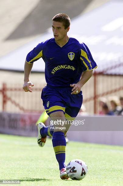 Harry Kewell of Leeds Utd in action during the PreSeason friendly against Barnsley *2/12/2002 Leeds United striker Harry Kewell who has sought to...