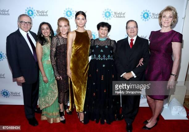 Harry Leibowitz World of Children CoFounder/Event CoChair Meghan Pasricha Arwa J Damon Lily Aldridge Followill Wolrd of Children Celebrity Ambassador...