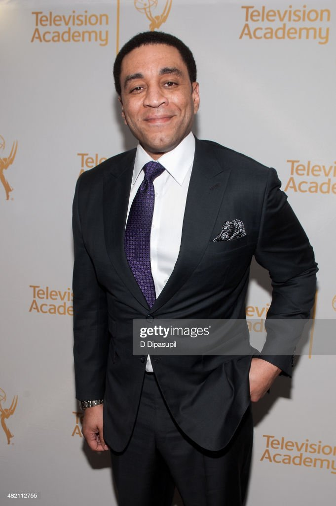 Harry Lennix attends an evening with 'The Blacklist' at Florence Gould Hall on April 2 2014 in New York City