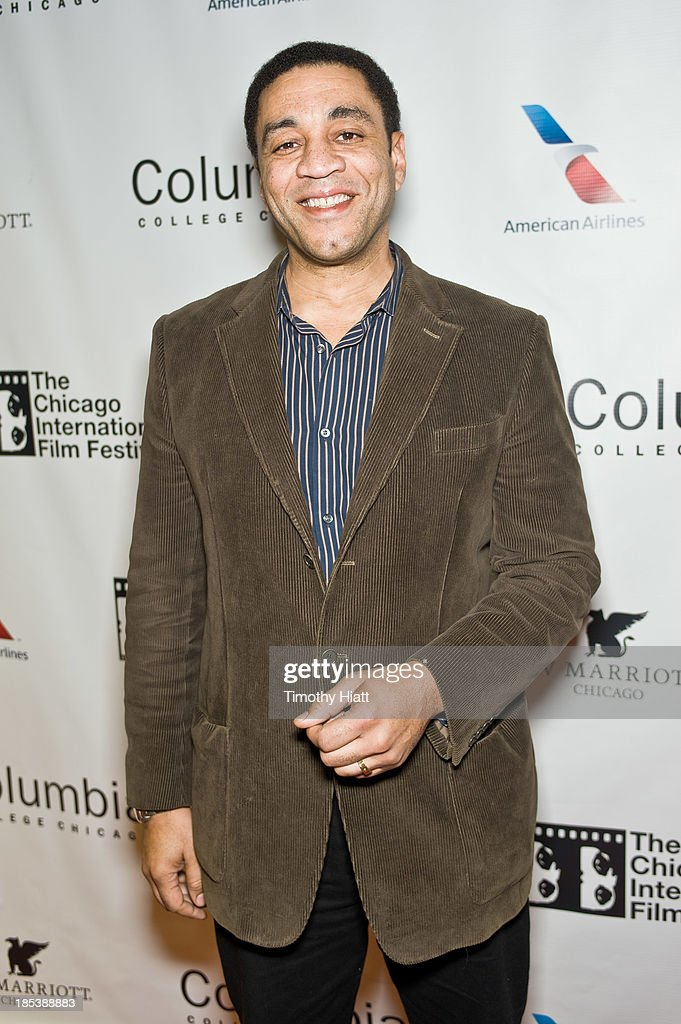 Harry Lennix attends the 'H4' premiere at AMC River East Theater on October 19, 2013 in Chicago, Illinois.
