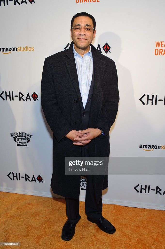 Harry Lennix attends the world premiere of 'ChiRaq' at The Chicago Theatre on November 22 2015 in Chicago Illinois