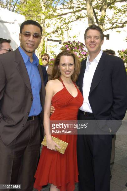 Harry Lennix Julie Ann Emery and Kyle Secor during 2005/2006 ABC UpFront at Lincoln Center in New York City New York United States