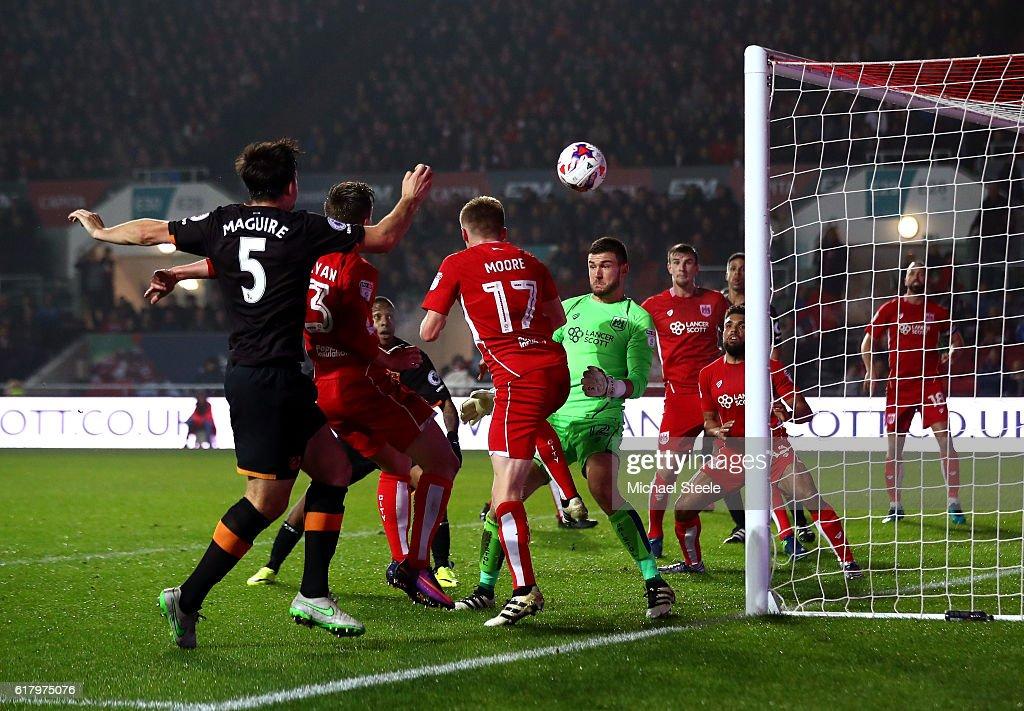 Bristol City v Hull City - EFL Cup Fourth Round
