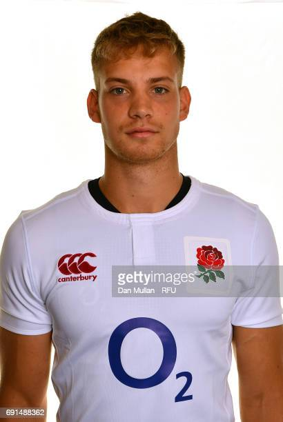 Harry Mallinder of England poses for a portrait during the Argentina Tour Squad photo call at Twickenham Stadium on June 2 2017 in London England