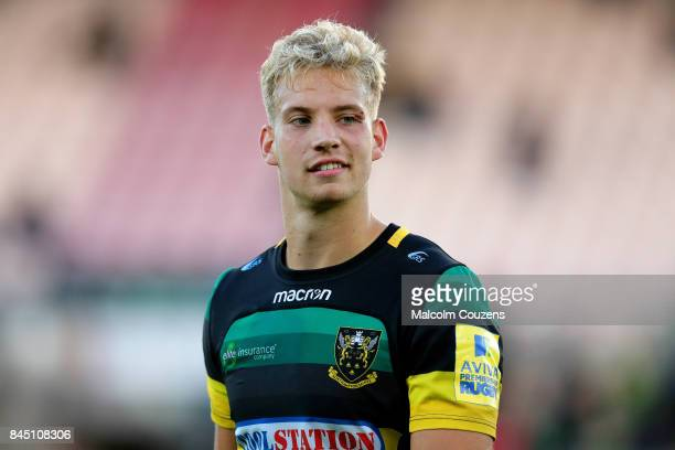 Harry Mallinder of Northampton Saints during the Aviva Premiership match between Northampton Saints and Leicester Tigers at Franklin's Gardens on...