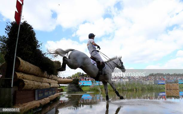 Harry Meade of Great Britain rides Away Cruising during the CIC 4 star cross country at the Messmer Trophy on June 17 2017 in Luhmuhlen Germany