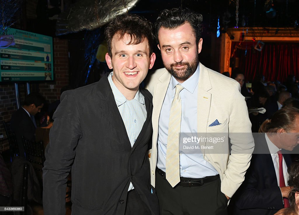 <a gi-track='captionPersonalityLinkClicked' href=/galleries/search?phrase=Harry+Melling&family=editorial&specificpeople=15421171 ng-click='$event.stopPropagation()'>Harry Melling</a> (L) and Daniel Mays attend the Summer Gala for The Old Vic at The Brewery on June 27, 2016 in London, England.