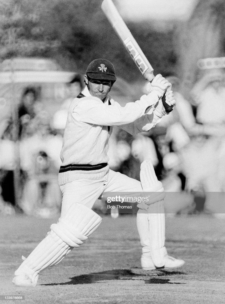 Harry Pilling batting for Lancashire circa 1976