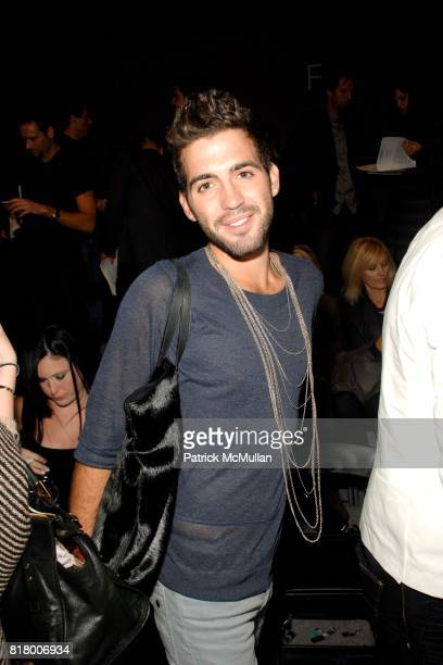 Harry Pinkerton attends Richie Rich 2011 Fashion Show at The Studio at Lincoln Center on September 9 2010 in New York City