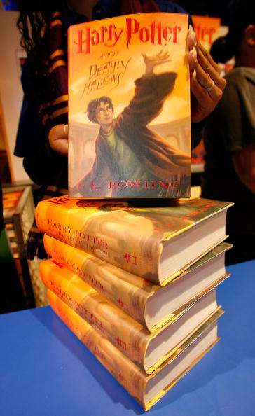 Harry Potter Book July ~ Harry potter and the deathly hallows stock photos