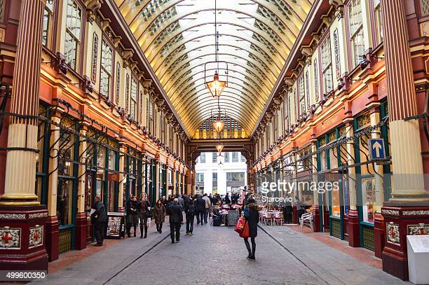 Harry Potter Diagon Alley - Leadenhall Market in London, UK
