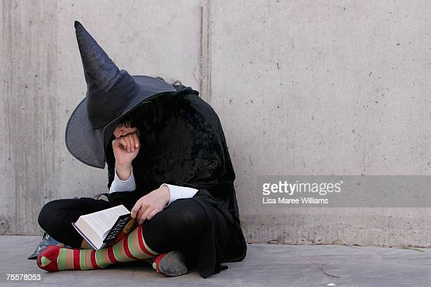 Harry Potter fan begins to read the final novel by author JK Rowling 'Harry Potter and the Deathly Hallows at the much anticipated launch on July 21...