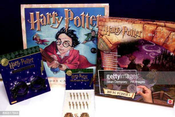 Harry Potter toys by Mattel hitting the shops on 27/12/00 including a Harry Potter trivia quiz a Mystery at Hogwarts board game and two jigsaw...
