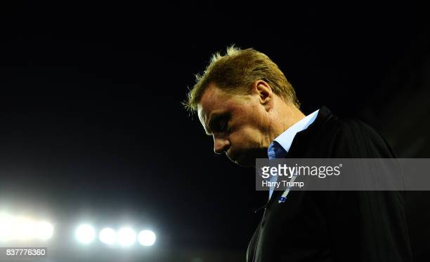 Harry Redknapp Manager of Birmingham City during the Carabao Cup Second Round match between Birmingham City and AFC Bournemouth at St Andrews Stadium...