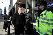 Harry Redknapp the manager of Tottenham Hotspur football club arrives at Westminster Magistrates' Court on February 11 2010 in London England Mr...