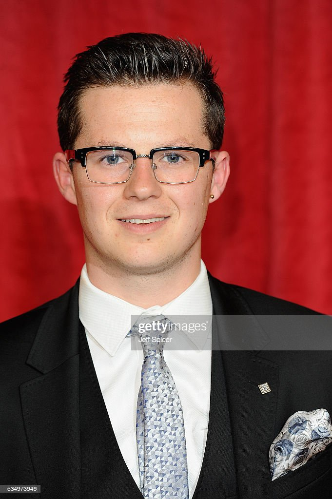 Harry Reid attends the British Soap Awards 2016 at Hackney Empire on May 28, 2016 in London, England.
