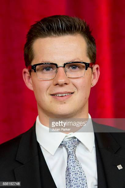 Harry Reid attends the British Soap Awards 2016 at Hackney Empire on May 28 2016 in London England