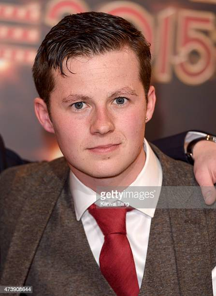 Harry Reid attends the British Soap Awards at Manchester Palace Theatre on May 16 2015 in Manchester England
