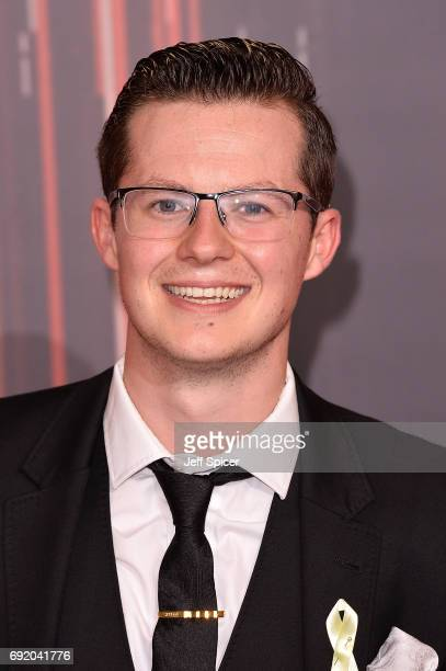 Harry Reid attends The British Soap Awards at The Lowry Theatre on June 3 2017 in Manchester England The Soap Awards will be aired on June 6 on ITV...