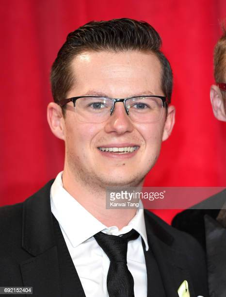 Harry Reid attends the British Soap Awards at The Lowry Theatre on June 3 2017 in Manchester England