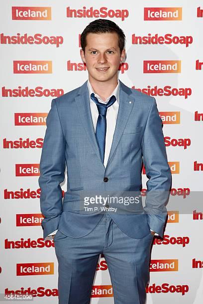 Harry Reid attends the Inside Soap Awards at Dstrkt on October 1 2014 in London England