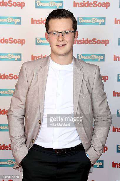 Harry Reid attends the Inside Soap Awards at The Hippodrome on October 3 2016 in London England