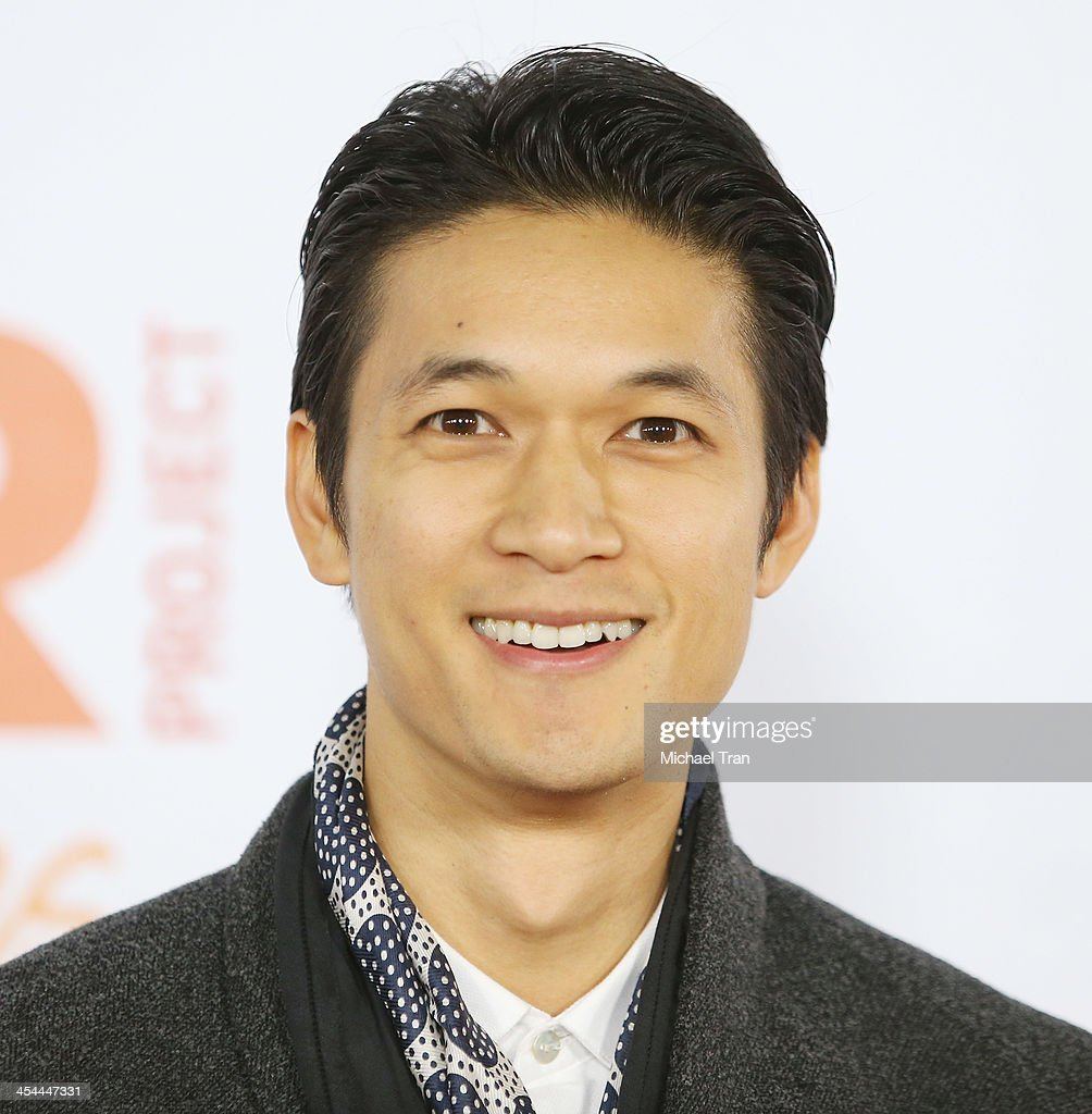 <a gi-track='captionPersonalityLinkClicked' href=/galleries/search?phrase=Harry+Shum+Jr.&family=editorial&specificpeople=4862988 ng-click='$event.stopPropagation()'>Harry Shum Jr.</a> arrives at the 15th Annual Trevor Project Benefit held at Hollywood Palladium on December 8, 2013 in Hollywood, California.