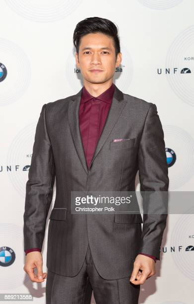 Harry Shum Jr arrives to at The 16th Annual Unforgettable Gala held at The Beverly Hilton Hotel on December 9 2017 in Beverly Hills California