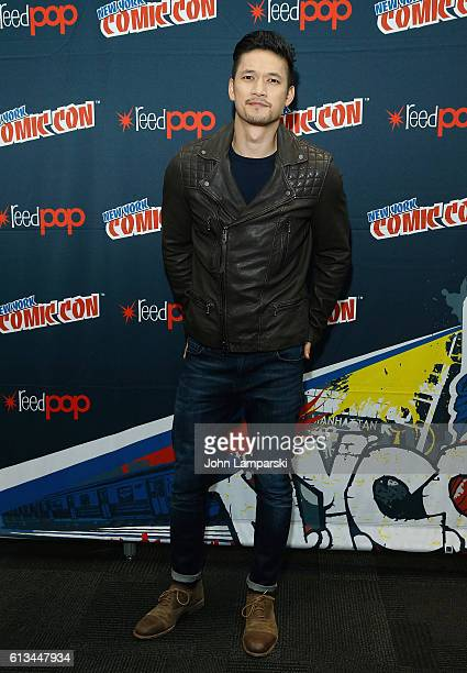 Harry Shum Jr attends Shadowhunters press conference during the 2016 New York Comic Con day 3 on October 8 2016 in New York City