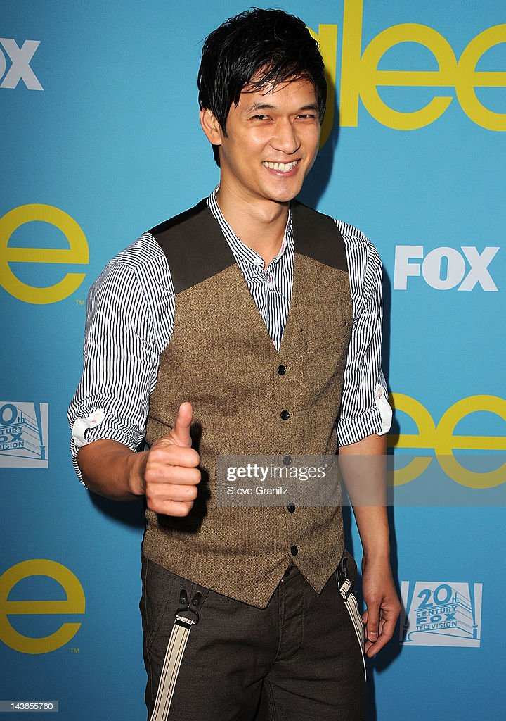 <a gi-track='captionPersonalityLinkClicked' href=/galleries/search?phrase=Harry+Shum+Jr.&family=editorial&specificpeople=4862988 ng-click='$event.stopPropagation()'>Harry Shum Jr.</a> attends TV Academy's special screening of 'GLEE' at Leonard H. Goldenson Theatre on May 1, 2012 in North Hollywood, California.