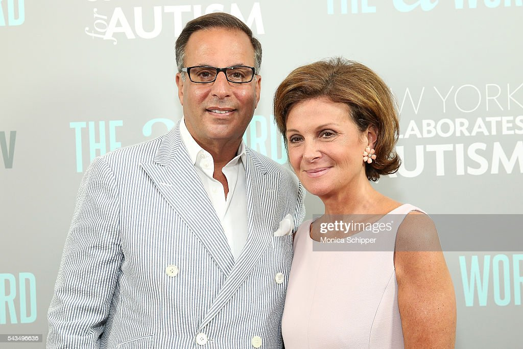 Harry Slatkin (L) and Laura Slatkin attend 'The A Word' New York screening at Museum Of Arts And Design on June 28, 2016 in New York City.