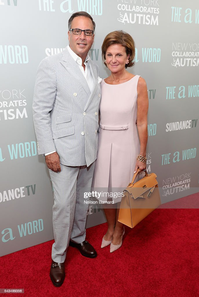 <a gi-track='captionPersonalityLinkClicked' href=/galleries/search?phrase=Harry+Slatkin&family=editorial&specificpeople=3945972 ng-click='$event.stopPropagation()'>Harry Slatkin</a> (L) and Laura Slatkin attend 'The A Word' New York screening at Museum Of Arts And Design on June 28, 2016 in New York City.