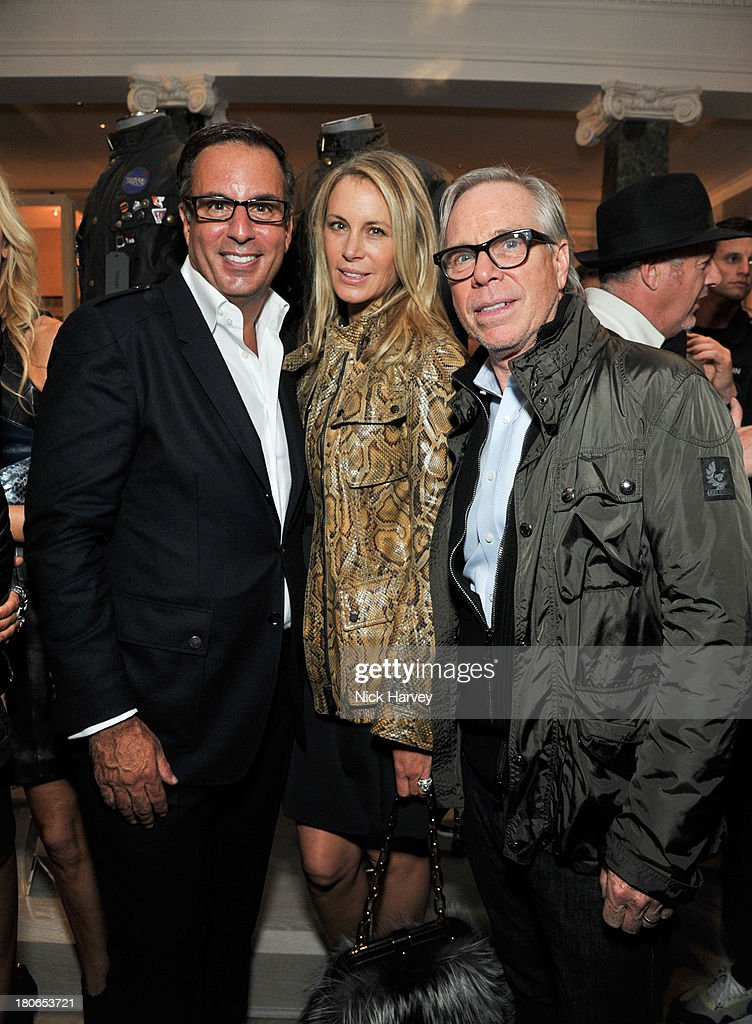 Belstaff house opening event getty images for Laura and harry slatkin