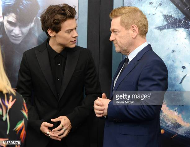 Harry Styles and Kenneth Branagh attend the 'DUNKIRK' premiere in New York City