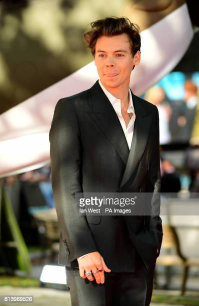 Harry Styles attending the Dunkirk world premiere at the Odeon Leicester Square London