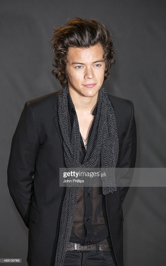 <a gi-track='captionPersonalityLinkClicked' href=/galleries/search?phrase=Harry+Styles&family=editorial&specificpeople=7229830 ng-click='$event.stopPropagation()'>Harry Styles</a> attends the British Fashion Awards 2013 at London Coliseum on December 2, 2013 in London, England.