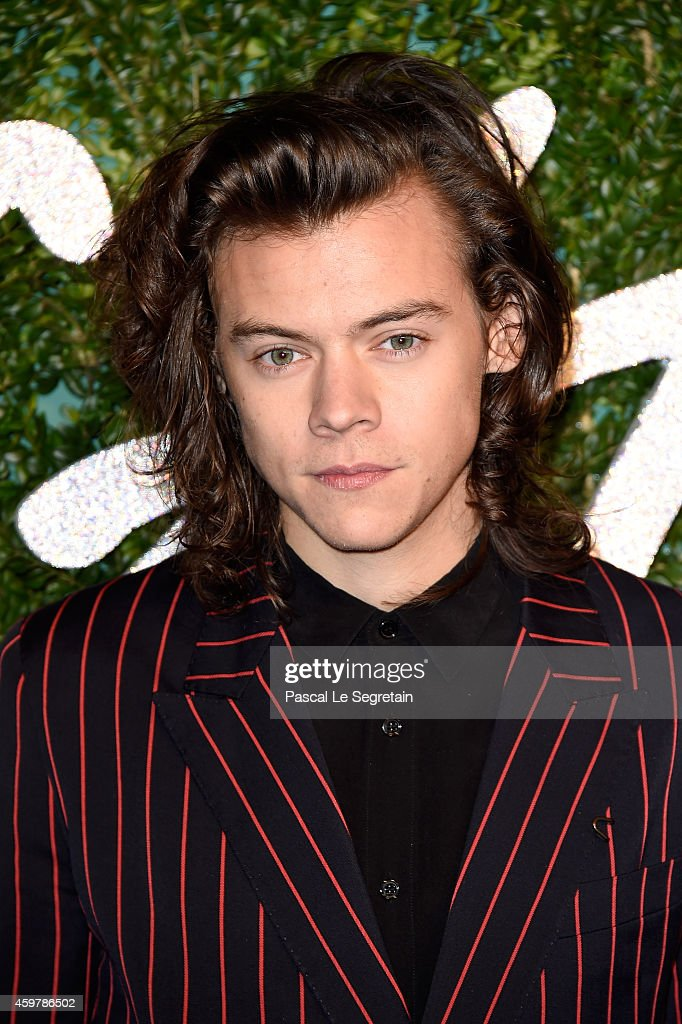 <a gi-track='captionPersonalityLinkClicked' href=/galleries/search?phrase=Harry+Styles&family=editorial&specificpeople=7229830 ng-click='$event.stopPropagation()'>Harry Styles</a> attends the British Fashion Awards at London Coliseum on December 1, 2014 in London, England.