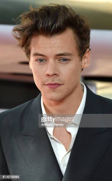 Harry Styles attends the 'Dunkirk' World Premiere at Odeon Leicester Square on July 13 2017 in London England