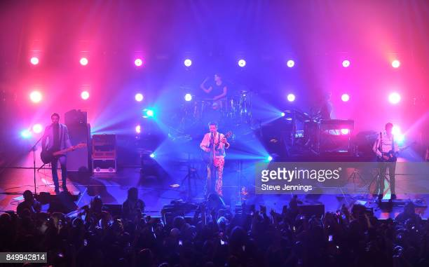 Harry Styles performs on the Tour Opening Date at The Masonic on September 19 2017 in San Francisco California