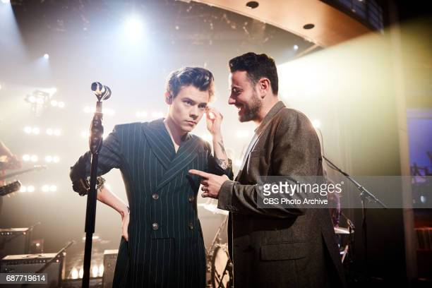 Harry Styles performs 'The Late Late Show with James Corden' Thursday May 18 2017 On The CBS Television Network