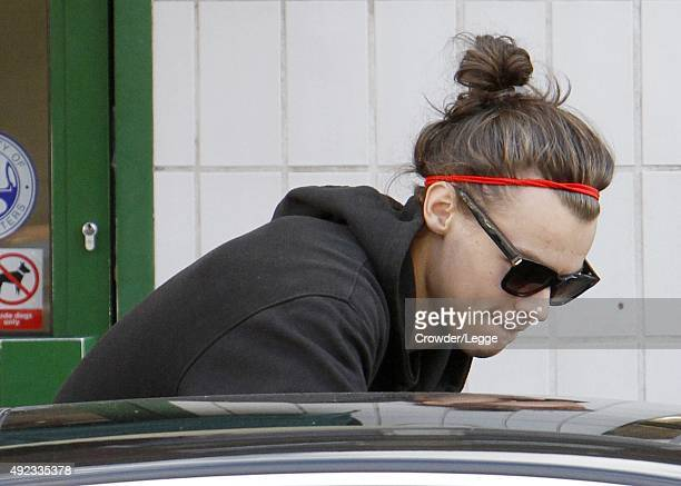 Harry Styles sighting on September 28 2015 in London England