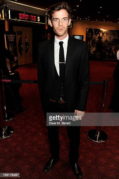 Harry Treadaway attends a Gala Screening of 'Cheerful Weather For The Wedding' at the Empire Leicester Square on January 9 2013 in London England