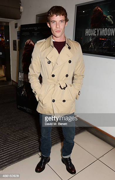 Harry Treadaway attends a special screening and live QA of 'Honeymoon' at the Odeon Studios in Odeon Leicester Square on September 26 2014 in London...