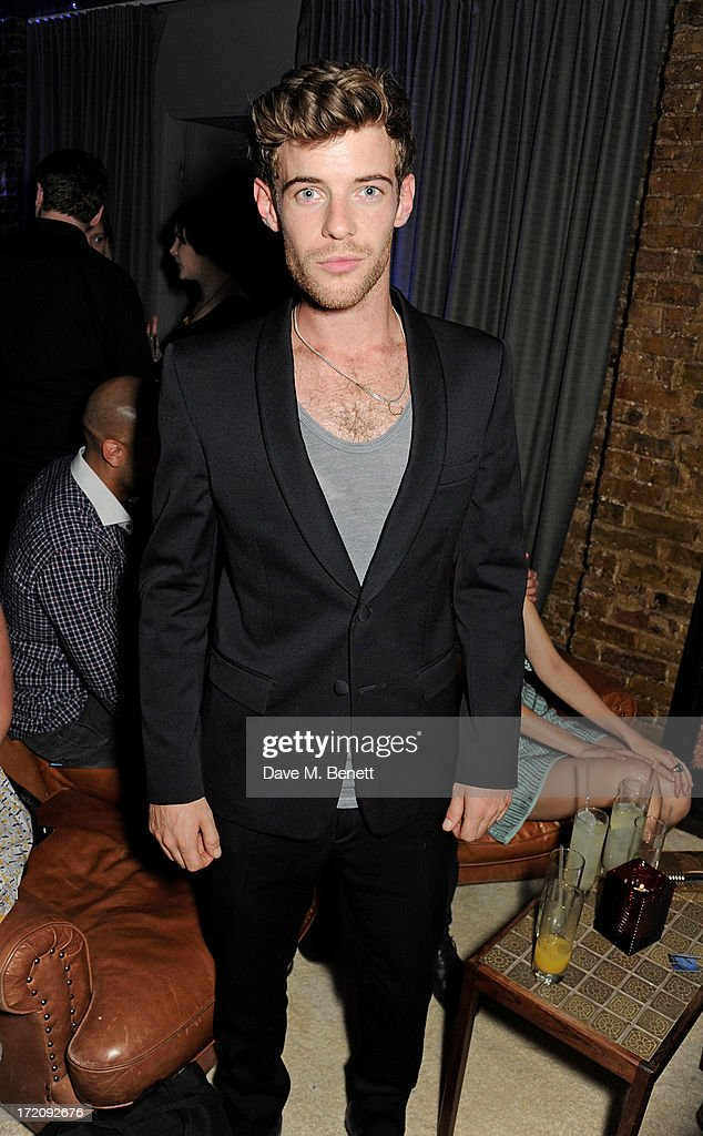 Harry Treadaway attends an after party following 'A Curious Night at the Theatre', a charity gala evening to raise funds for Ambitious about Autism and The National Autistic Society, at Century Club on July 1, 2013 in London, England.