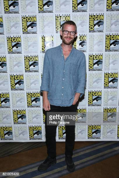Harry Treadaway attends the Stephen King Series 'Mr Mercedes' press line at ComicCon International 2017 on July 23 2017 in San Diego California